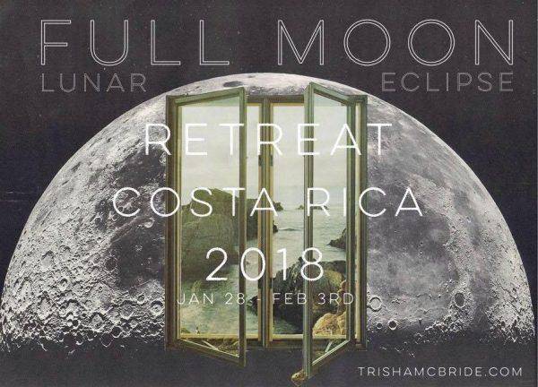 "Full Moon Retreat 2018* Costa Rica ""The Alchemist's Atelier"" 1.28.18 – 2.3.18"