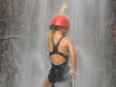 Tree Climbing and Waterfall Rappelling
