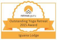 Retreat Guru Outstanding Yoga Retreat Award 2015