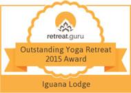 Retreat Guru Outstanding Yoga Retreat Award