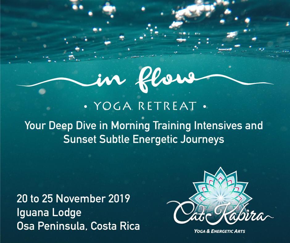Cat Kabira - In Flow Yoga Retreat NOVEMBER 20 to 25, 2019